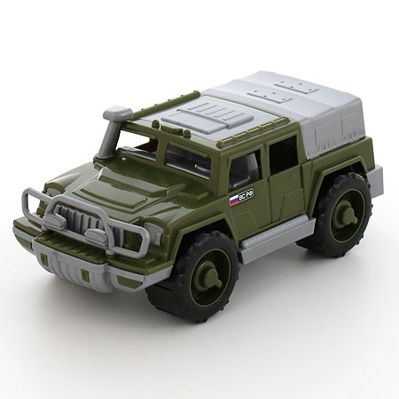 Машинка Полесье джип военный Защитник №1 31 см