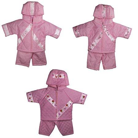 Одежда для кукол 43-48 см Модница комплект в ассортименте