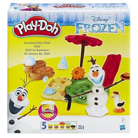 Набор Play-Doh Летние приключения Олафа