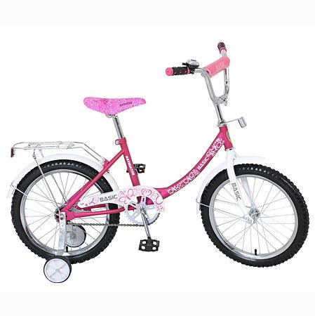 Велосипед Navigator Basic 18 дюймов Розово-белый