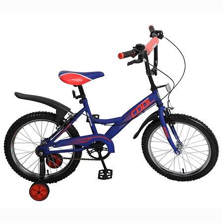 """Велосипед Navigator Cool 18"""" Сине-красный матовый"""