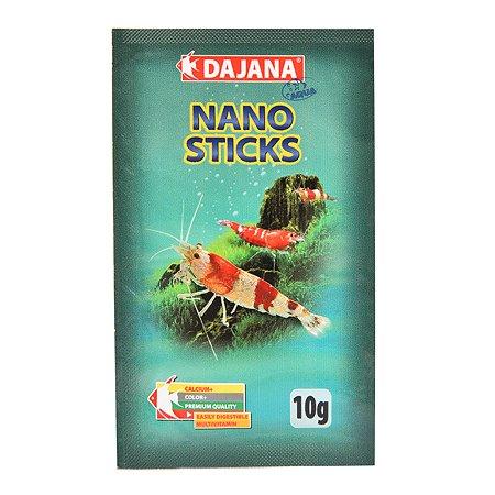 Корм для крабов и креветок DAJANA Nano Sticks гранулы 10г