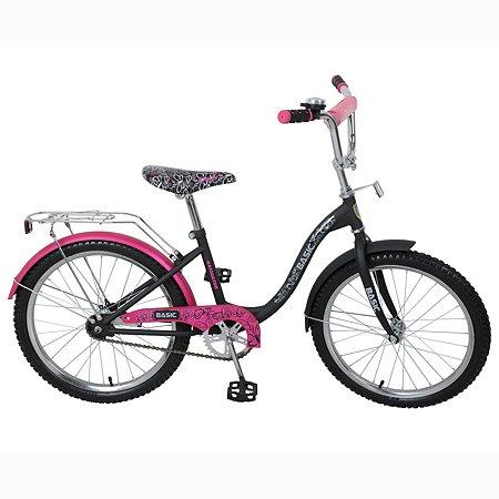 """Велосипед Navigator 20"""" Розово-черный"""