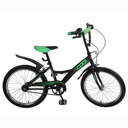 """Велосипед Navigator Cool 20"""" Черно-зеленый матовый"""