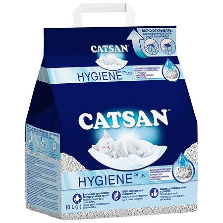 Наполнитель для кошек Catsan впитывающий 10л