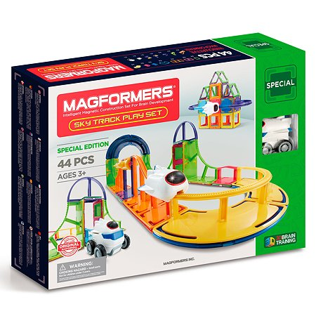Конструктор магнитный Magformers Sky Track Play Set 799011