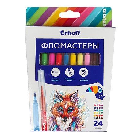 Набор фломастеров Erhaft 24 цвета KR971587-24
