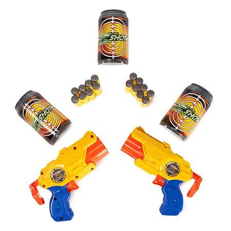 Набор для стрельбы X-SHOT Комбо Tek-3