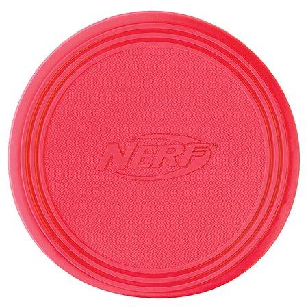 Игрушка для собак Nerf Диск для фрисби большой Красный