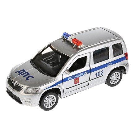Машина Технопарк Skoda Yeti Полиция инерционная 259939