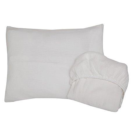 Комплект постельного белья Baby Edel 2 предмета Белый 10058