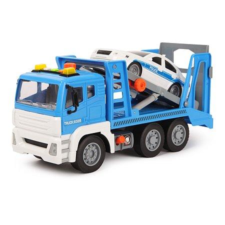 Машинка Mobicaro 1:12 Эвакуатор инерционная WY832B