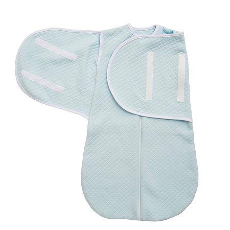 Конверт для сна капитоний х/б Baby Nice Голубой E1029011/BL