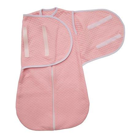 Конверт для сна капитоний х/б Baby Nice Розовый E1029011/RO