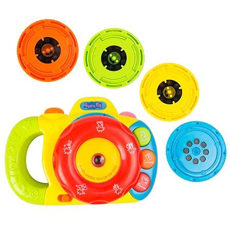 Игрушка Свинка Пеппа Музыкальный фотоаппарат с проектором