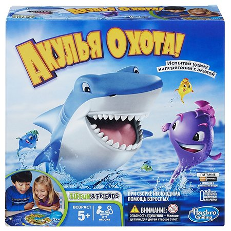 Настольная игра Hasbro Games Акулья охота
