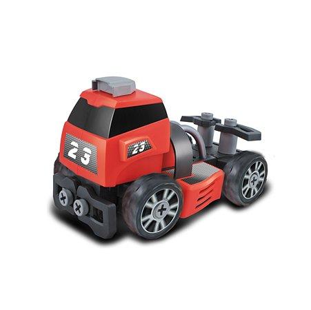 Машинка-конструктор Devik Toys Красный грузовик