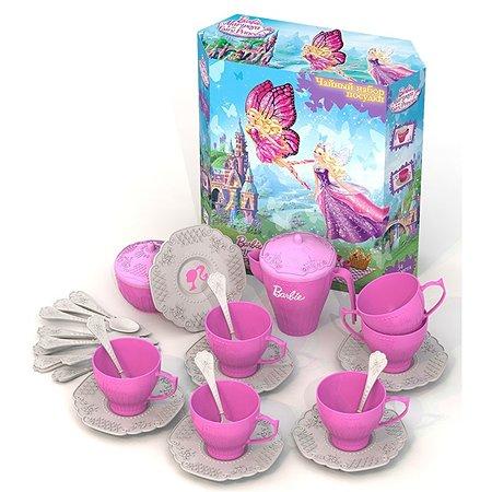 Чайный набор Нордпласт БАРБИ 34 предмета