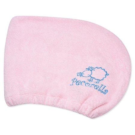 Полотенце-чалма Pecorella Розовый
