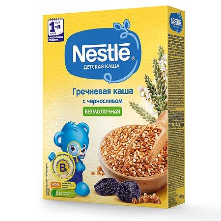 Каша Nestle безмолочная гречка-чернослив 200г с 5месяцев