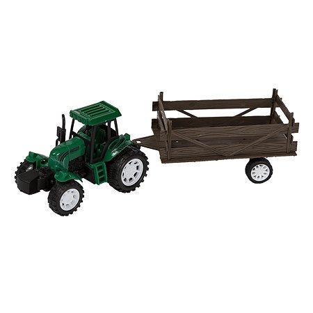 Набор Mobicaro Трактор с прицепом