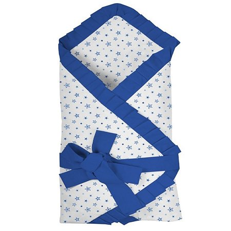 Одеяло Эдельвейс на липучке Голубое