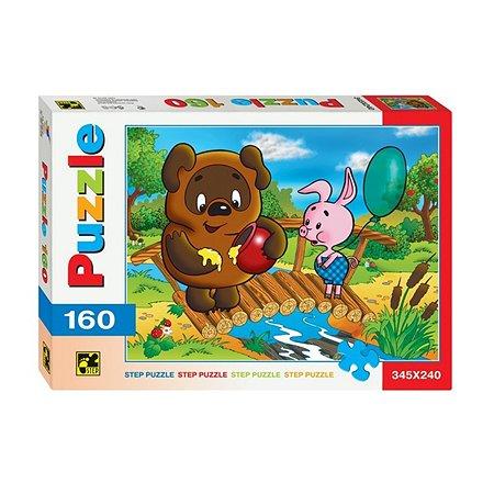 Пазлы Step Puzzle Винни Пух 160 элементов 72004