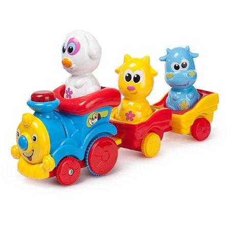Поезд с животными Baby Go OTC0862140B