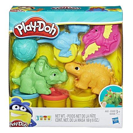 Набор игровой Play-Doh Малыши динозаврики E1953EU4