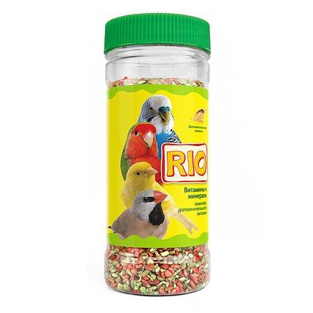 Смесь витаминно-минеральная RIO для птиц 220г 49443