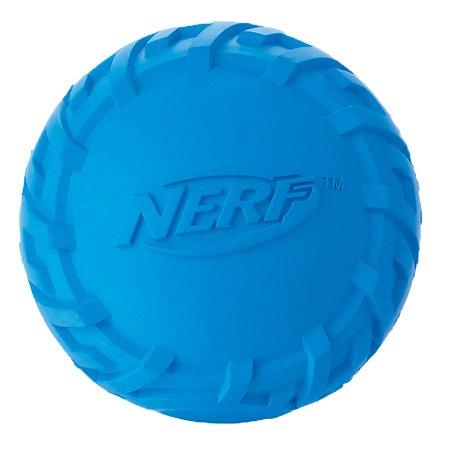 Игрушка для собак Nerf Мяч пищащий малый Синий