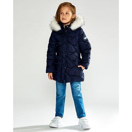 Пальто Futurino Cool тёмно-синее