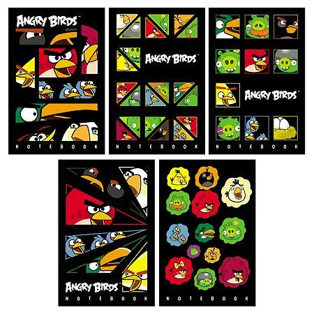 Блокнот Hatber Angry Birds А7 Цветной блок 48л в ассортименте 48Б7B1к
