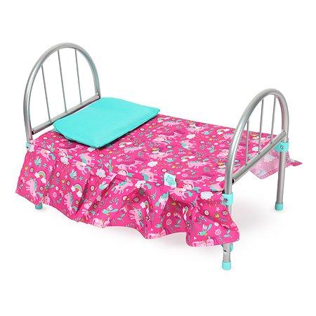 Кроватка для куклы Demi Star Единороги 9342Unicorn2