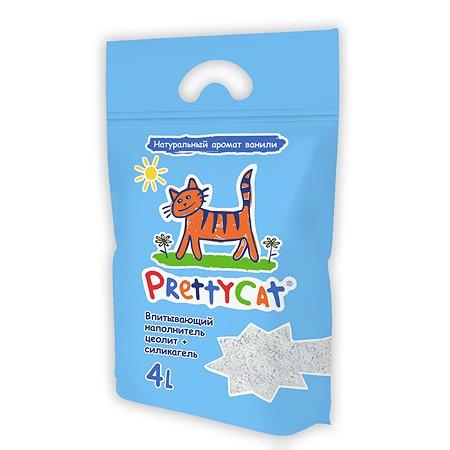 Наполнитель для кошек PrettyCat Aroma Fruit глиняный впитывающий с део-кристаллами 2кг