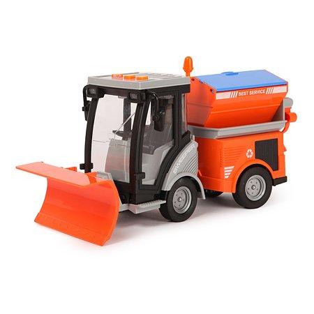 Машинка Mobicaro 1:16 Снегоуборщик инерционная WY681A
