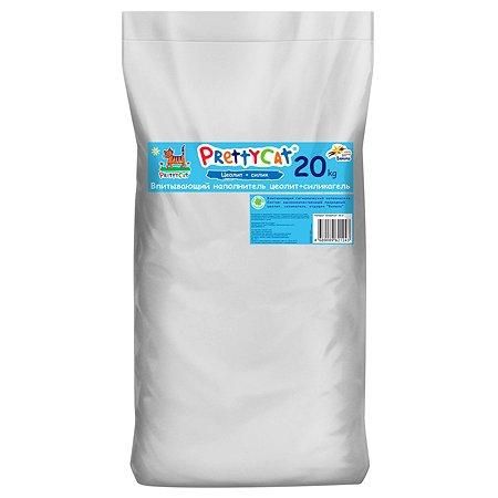 Наполнитель для кошек PrettyCat Aroma Fruit глиняный впитывающий с део-кристаллами 20кг