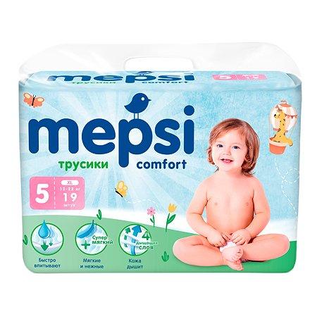 Подгузники-трусики Mepsi XL 12-22кг 19шт