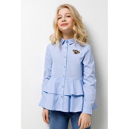 Блузка Acoola голубая