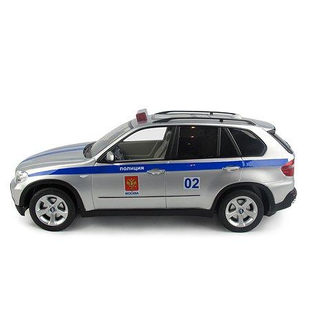 Машинка Rastar радиоуправляемая 1:18 Bmw X5 Полицейская 23100P