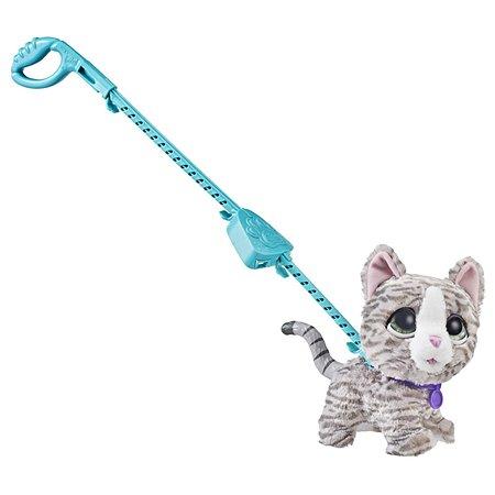 Игрушка FurReal Friends Кошка на поводке большая E4781EU4