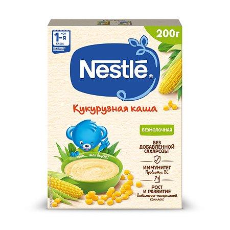 Каша Nestle безмолочная кукурузная 200 г с 5 месяцев