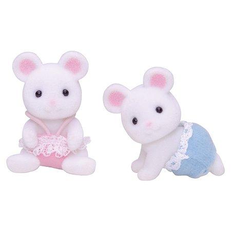Двойняшки Sylvanian Families Белые мышата 3217