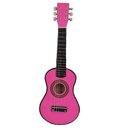 Гитара Ocie 58 см цвет розовый