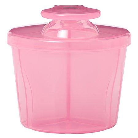 Контейнер-дозатор сухой смеси Dr Brown's Розовый AC038