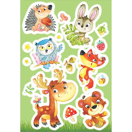 Интерьерный стикер Decoretto Лесные звери