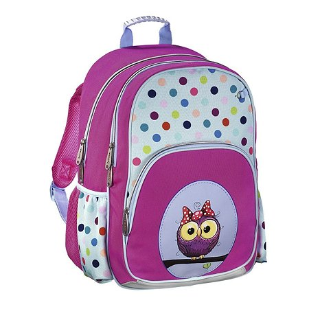 Ранец Hama мягкий SWEET OWL розовый/голубой