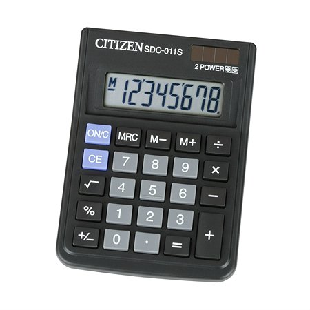 Калькулятор Citizen citSDC-011S настольный 776800