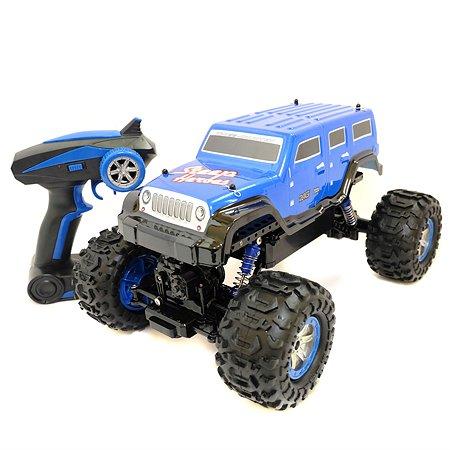 Машина р/у HK Industries Джип-Амфибия 1:12 4WD синий