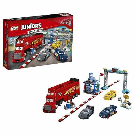 Конструктор LEGO Juniors Финальная гонка «Флорида 500» (10745)